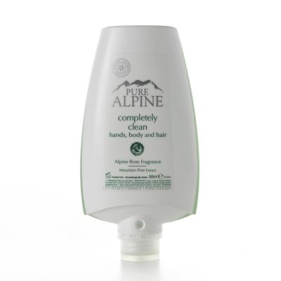 Dispenser Unique mani corpo e capelli 300 ml Rosa Alpina