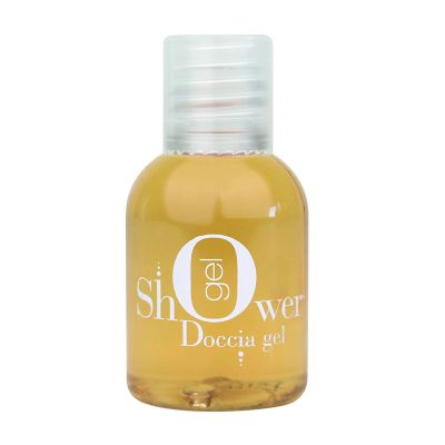 Doccia Gel, Patchouli Light Amber 33 ml - White