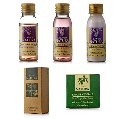 Starter Kit Cosmesi Natura Wine Therapy